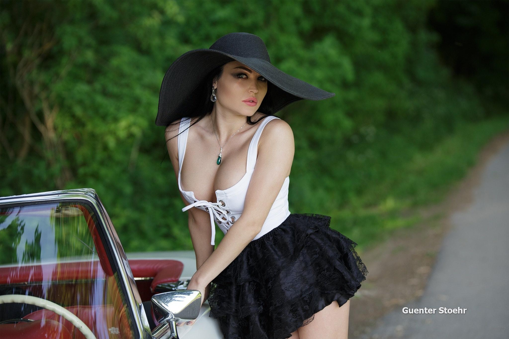 Обои Guenter Stoehr, photographer, девушка, модель на ...