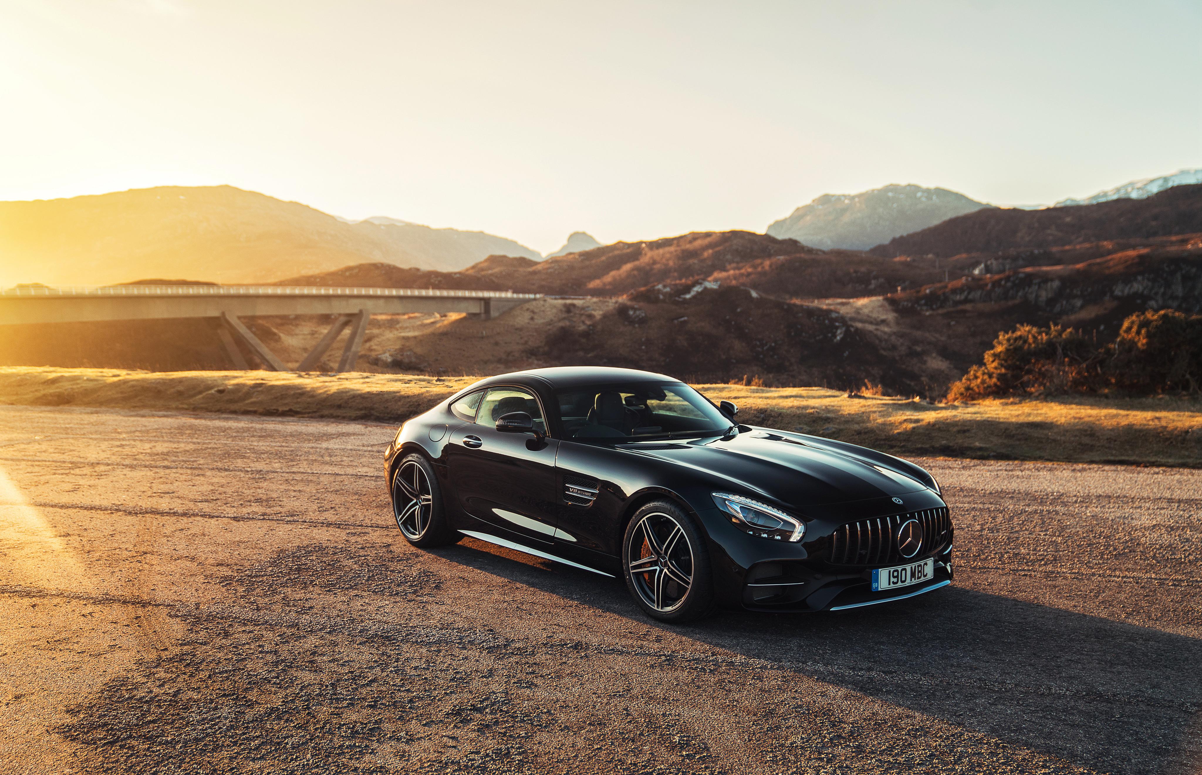 Обои Mercedes, AMG, GT C на рабочий стол - картинки с