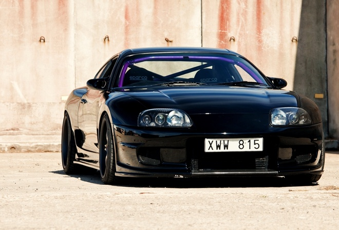 supra, wallpapers, car, toyota, sport, black, jdm