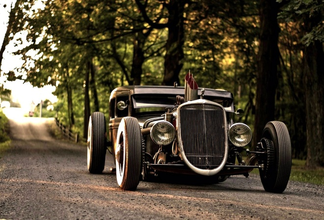 model, car, hot rod, 1930, automobile, a, wallpapers, ford, beautiful