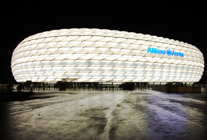 мюнхен, альянц арена, стадион, germany, Allianz arena, германия