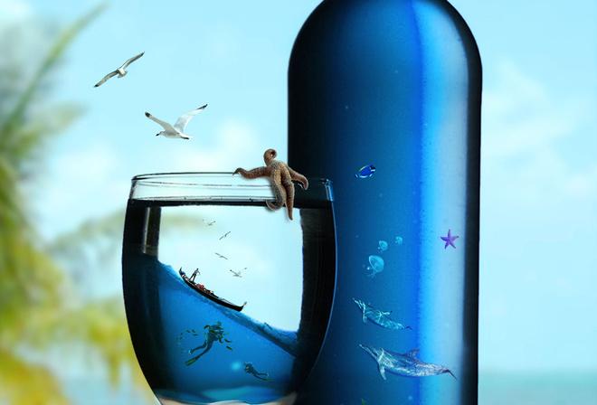 Скачать картинки с Бутылкой Воды