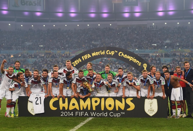 sport, football, world champions, Team Germany team, joy, positive, world cup, stadium, Rio De Janeiro, Brazil