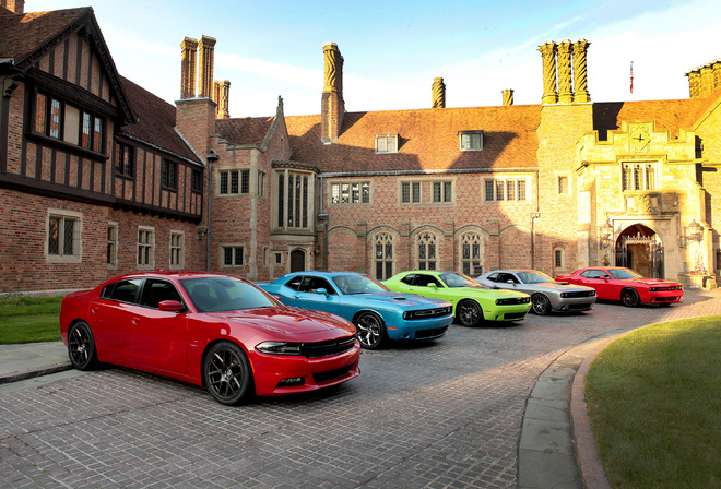 100th, anniversary, dodge, challenger, charger, 2015, SRT, RT, Hellcat