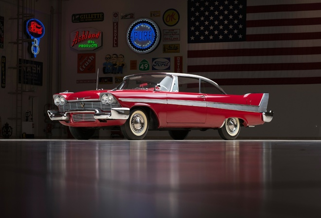 plymouth fury sport coupe, автомобили, plymouth, fury