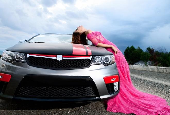 Фотосессии с машиной девушки фото