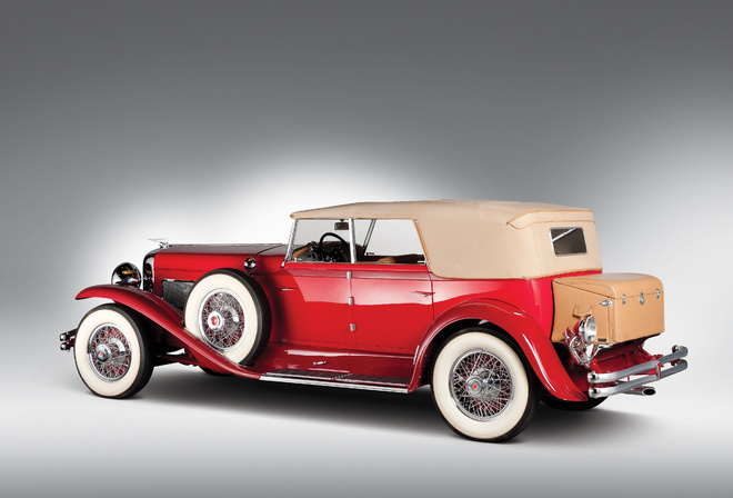 1930, Duesenberg, Model J-208-2228, Convertible Sedan by Murphy, Кабриолет, седан