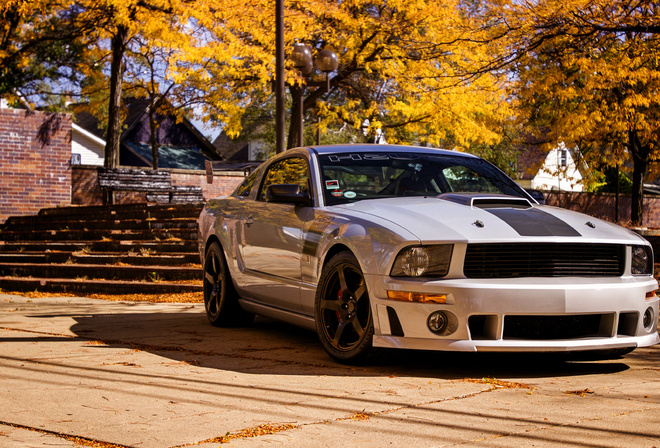 Ford, 2012, Roush, 427R, Mustang, осень