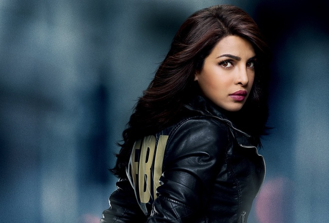 television channel ABC, Quantico, Priyanka Chopra, Academy Quantico, cadet, Indian, Miss World in 2000, FBI, series, singer, suspicion of terrorism, detained, oriental, arrested, special agent, actress, TV series, agent, jacket, brown hair, ABC, miss, bro