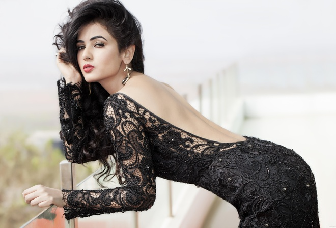 girl, девушка, brunette, actress, актриса, Sonal Chauhan, celebrity, bollywood, beauty, индийский, model, indian, красавица, beautiful