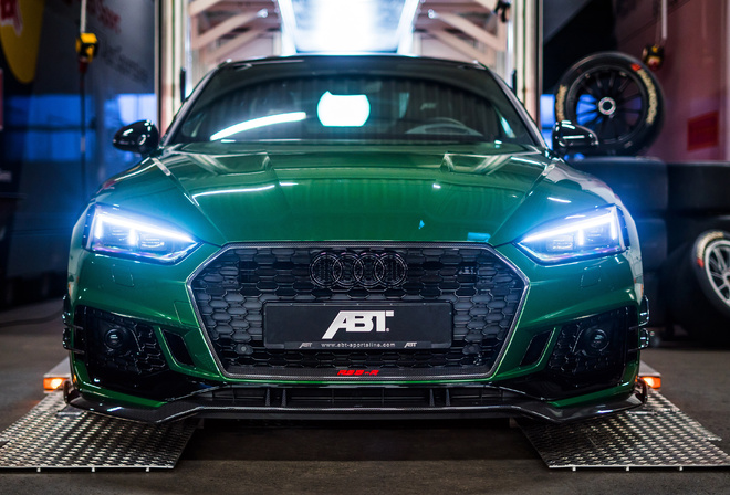 Audi, RS, 5-R, Coupe, ABT, Sportsline, 2018, вид спереди