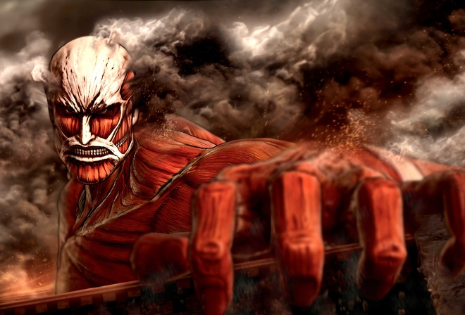 Attack On Titan, anime, wallpapers