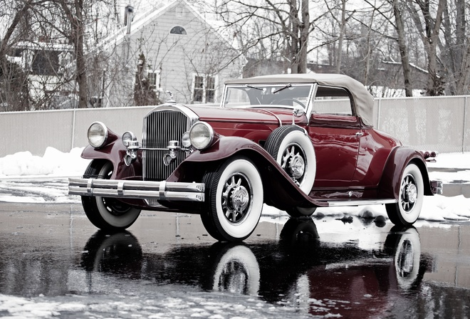 Model 42, Pierce-Arrow, 1931, Convertible