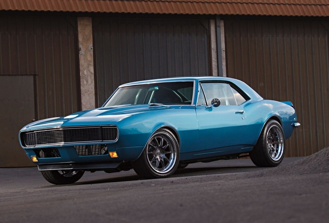 chevrolet, camaro, 1967, retro