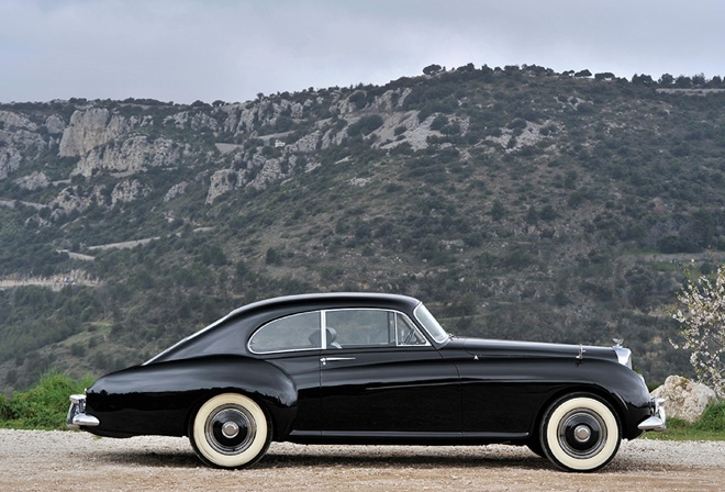 bentley, continental, sports, 1953