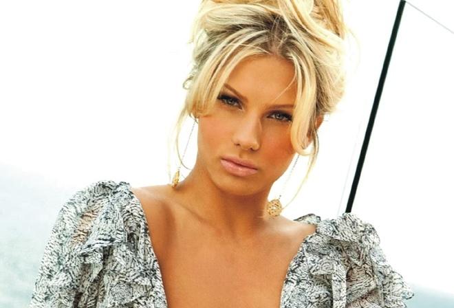 Most Beautiful Blonde Model Ever Angelina Polska Posing Celebsroulette 1