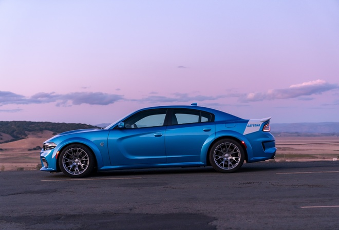 Dodge, Charger, SRT, Hellcat, side view, 2020, cars, Daytona