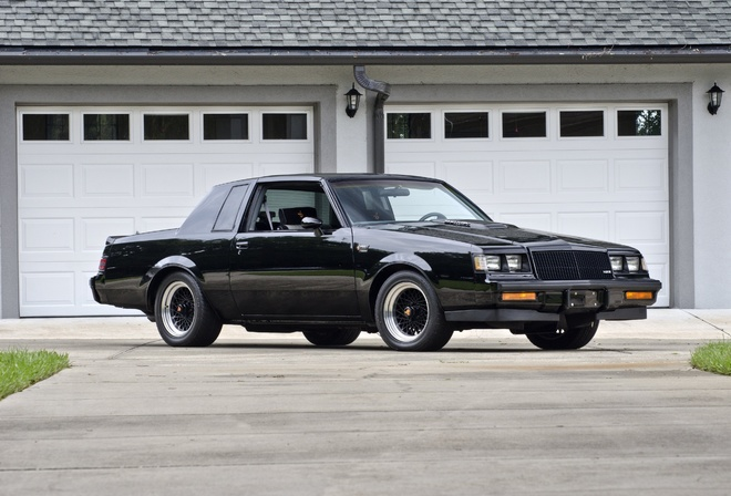 1986, Buick, Grand, National, Muscle, Classic