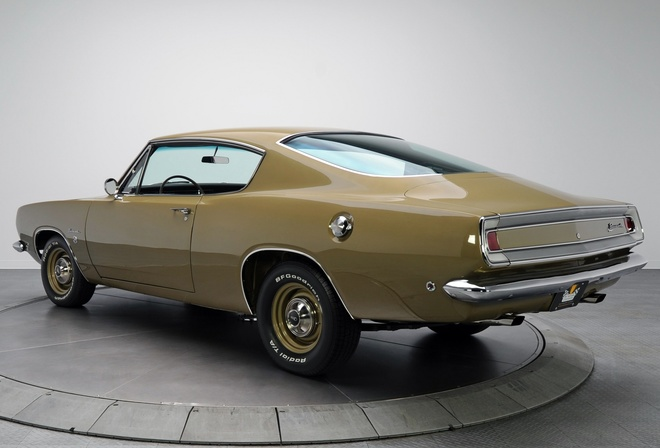 plymouth, barracuda, 1968