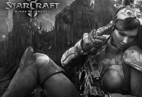 starcraft wings liberty, интересная игра