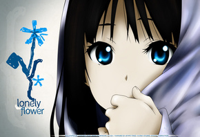 Close, k-on!, akiyama mio, lonely flower