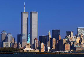 twin towers, нью-йорк, Wtc, new york, world trade center, башни-близнецы