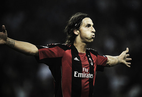 ibrahimovic, спорт, Футбол, football wallpapers, milan, милан, ибрагимович, ...