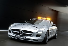 Mercedes sls, 2010 f1 safety car, amg