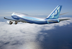 Boeing 747-8 intercontinental, new aircraft, , in flight
