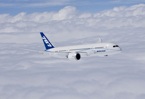 powered by ge engines, Boeing 787-8, boeing completes first flight of first 787 dreamliner,