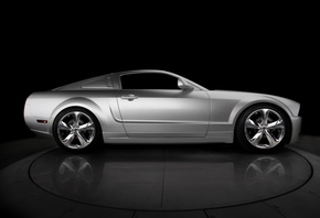 2009, Iacocca, silver, bok, ford, anniversary, mustang, 45th
