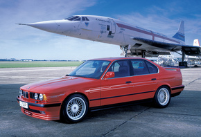 auto, alpina tuning, 5 series e34,