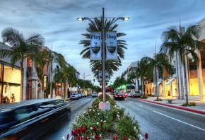 road, usa, калифорния, los angeles, hollywood, shop, california, Beverly hills, la
