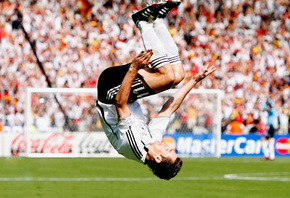 football, deutschland, germany, soccer, gool, сальто, Miroslav, klose, worl ...