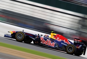 Red bull racing renault, скорость, ред булл, red bull rb7, болид
