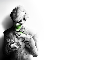 arkham city, Batman, joker