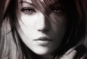 файнал фентези, lightning farron, 13, Final fantasy xiii, молния