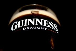 draught, темное, Пиво, макро, beer, guinness