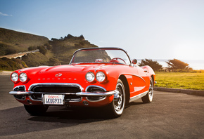 chevy, corvette, chevrolet, california dreaming, 1962