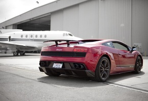 gallardo, ламборджини, Lamborghini, lp570, ламборгини, red, superleggera