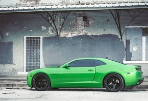 green, шевроле, black, chevrolet, wheels, camaro, камаро