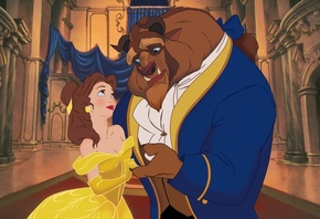 disney, красавица и чудовище, Beauty and the beast, fairytale, belle, prince