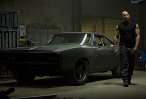 dodge, black, fast five, 1970, car, vin diesel, charger, muscle