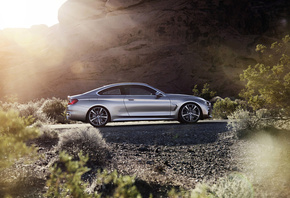 rock, concept, 2013, silver, style, coupe, 4 series, bmw, road