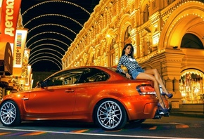 most wanted, m1, оранжевая, nfs, bmw, улица, 1m coupe
