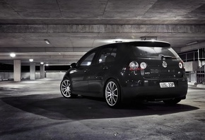 Auto, city, гараж, volkswagen golf, gti, wallpapers auto, parking, cars, об ...