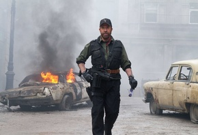 чак норрис, booker, the expendables 2, chuck norris, мужик, Неудержимые 2