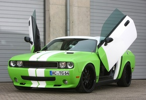 challenger, додж, челенжер, dodge, Ccg automotive, srt-8, wrapped, вид сзади
