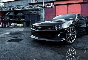 tuning, camaro, Car, wallpapers, chevrolet, automobile, beautiful, vossen,  ...