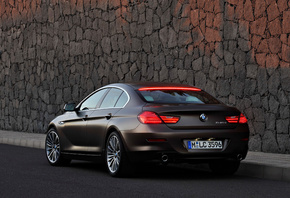 машина, 2013 bmw 6-series gran coupe, car